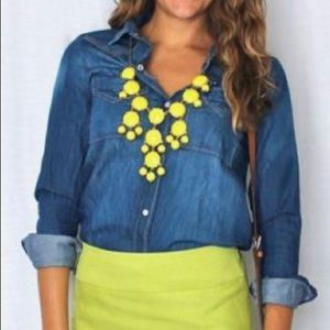 Yellow Bubble Necklace
